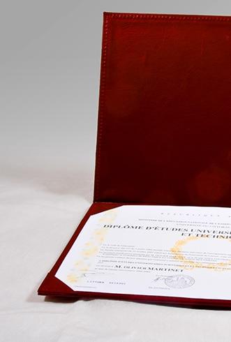 Accessoires remise de diplôme